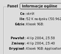 Polskie daty created/modified (przy włączonej opcji dodatkowej polonizacji)