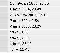 """Poprawne polskie daty w oknach Findera (ogłaszam konkurs pt. """"jak uzyskać datę jutro"""" :)"""