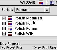 Najnowsza wersja formatu daty na gzymsie (zgodna z przyjętymi skrótami) i ujednolicone klawiatury (tu dla skryptu Roman)