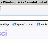 Poprawne tytuły w oknach polskich stron (przed polonizacją bez polskich znaków)
