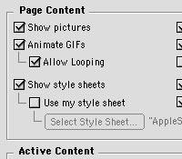 Style CSS wIE naMac OS 9