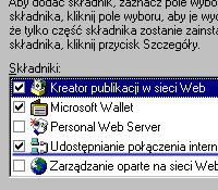 To należy zaznaczyć (Windows 98 SE)