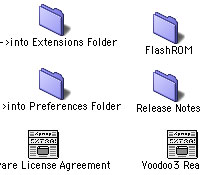 Zrzut teczki programu do flashowanie karty Voodoo 3