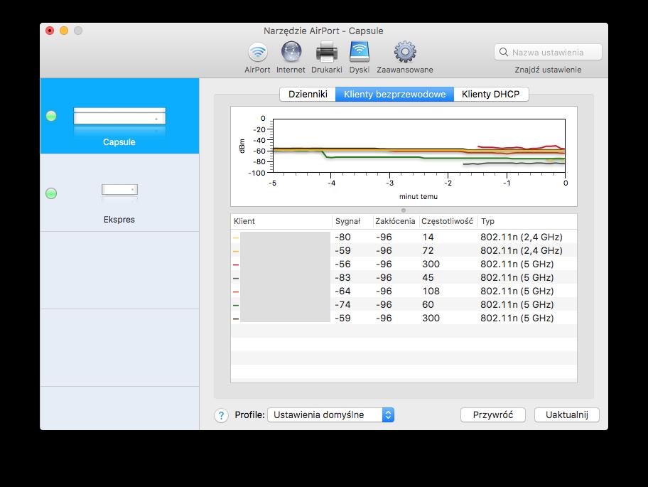 Narzędzie AirPort 5.6.1